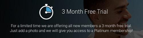 3 maanden gratis periode op Gaycupid.com om het platinium lidmaatschap te testen