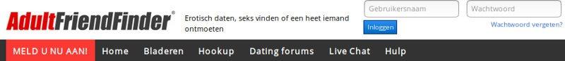 Geregistreerde gebruikers die klaar staan om u vandaag te ontmoeten op AdultFriendFinder.com in Nederland